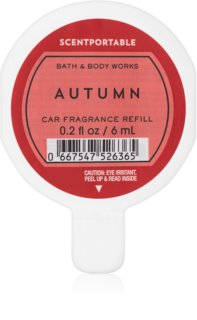 Bath & Body Works Autumn Auto luchtverfrisser  6 ml Vervangende Vulling