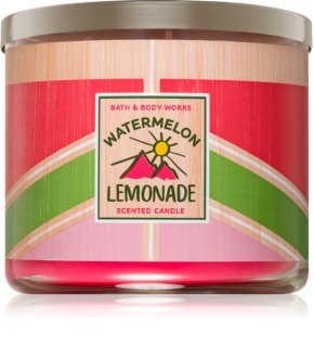 Bath & Body Works Watermelon Lemonade vela perfumada  I. 411 g