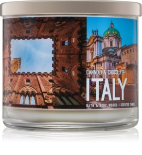 Bath & Body Works Cannoli & Chocolate mirisna svijeća 411 g  Italy