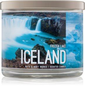 Bath & Body Works Frozen Lake dišeča sveča  411 g  Iceland