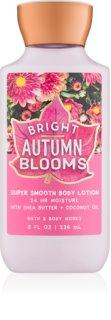 Bath & Body Works Bright Autumn Blooms lapte de corp pentru femei 236 ml
