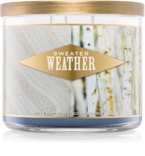 Bath & Body Works Sweater Weather vela perfumada 411 g I.