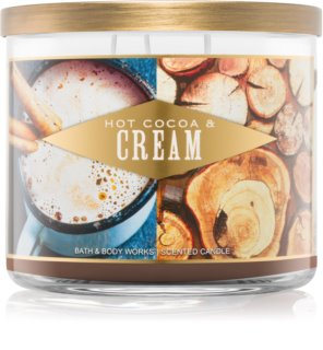 Bath & Body Works Hot Cocoa & Cream scented candle I. 411 g