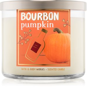 Bath & Body Works Bourbon Pumpkin illatos gyertya  411 g