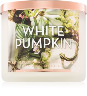 Bath & Body Works White Pumpkin illatos gyertya  411 g