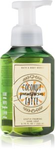 Bath & Body Works Coconut Pumpkin Latte hab szappan kézre