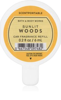 Bath & Body Works Sunlit Woods ambientador auto 6 ml