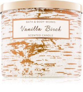 Bath & Body Works Vanilla Birch vela perfumada  411 g