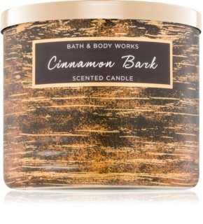 Bath & Body Works Cinnamon Bark vela perfumada  411 g
