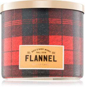 Bath & Body Works Flannel geurkaars I.