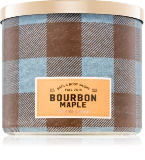 Bath & Body Works Bourbon Maple vela perfumada  I.