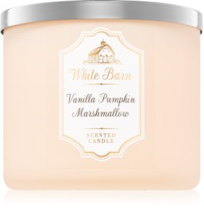 Bath & Body Works Vanilla Pumpkin Marshmallow Duftkerze  411 g