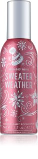 Bath & Body Works Sweater Weather spray para o lar 42,5 g