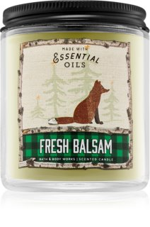 Bath & Body Works Fresh Balsam vela perfumada  198 g