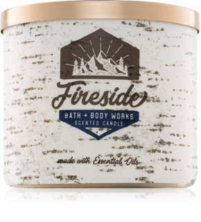 Bath & Body Works Fireside vela perfumada  411 g