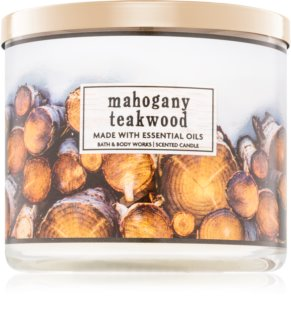 Bath & Body Works Mahogany Teakwood candela profumata 411 g I.