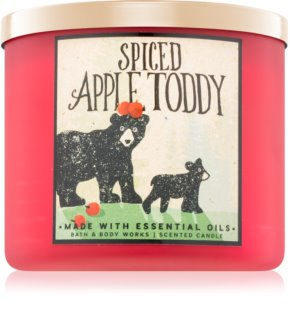 Bath & Body Works Spiced Apple Toddy geurkaars I.
