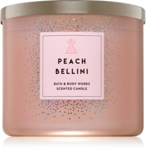 Bath & Body Works Peach Bellini vela perfumada  411 g