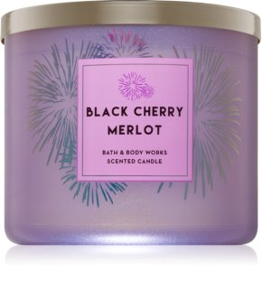 Bath & Body Works Black Cherry Merlot Geurkaars 411 gr