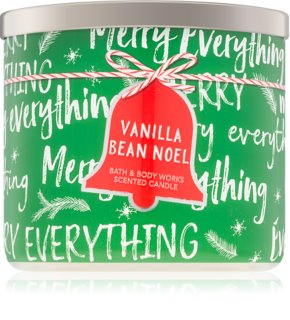 Bath & Body Works Vanilla Bean Noel bougie parfumée 411 g I.