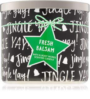 Bath & Body Works Fresh Balsam vela perfumada IV. 411 g