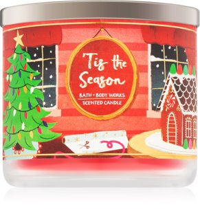 Bath & Body Works 'Tis the Season vela perfumada