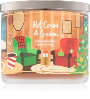 Bath & Body Works Hot Cocoa & Cream scented candle V. 411 g