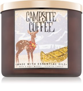 Bath & Body Works Campsite Coffee vela perfumada  411 g