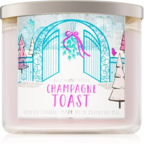 Bath & Body Works Champagne Toast ароматна свещ  III. 411 гр.