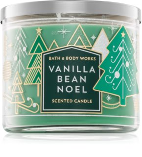 Bath & Body Works Vanilla Bean Noel vonná svíčka