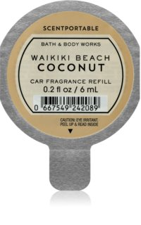 Bath & Body Works Waikiki Beach Coconut deodorante per auto 6 ml ricarica