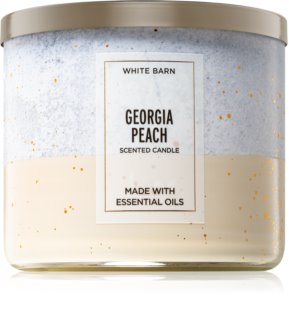 Bath & Body Works Georgia Peach vela perfumada  III 411 g