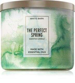 Bath & Body Works The Perfect Spring vonná svíčka 411 g