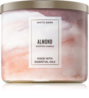 Bath & Body Works Almond vela perfumada 411 g