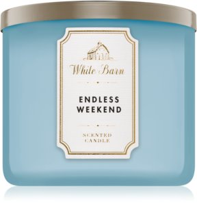 Bath & Body Works Endless Weekend bougie parfumée