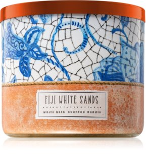 Bath & Body Works Fiji White Sands vela perfumada 411 g