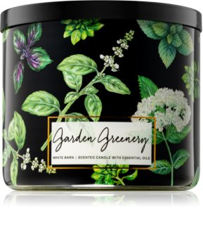 Bath & Body Works Garden Greenery vonná svíčka 411 g