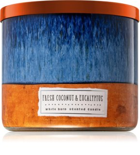 Bath & Body Works Fresh Coconut & Eucalyptus vela perfumada 411 g