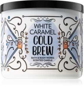 Bath & Body Works White Caramel Cold Brew vonná svíčka 411 g