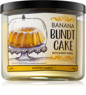 Bath & Body Works Banana Bundt Cake αρωματικό κερί