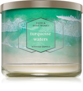 Bath & Body Works Turquoise Waters vela perfumada 411 g I.