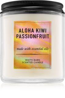 Bath & Body Works Aloha Kiwi Passionfruit lumânare parfumată  198 g I.