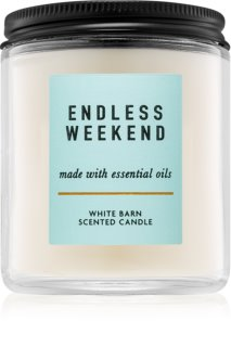 Bath & Body Works Endless Weekend vela perfumada  I. 198 g
