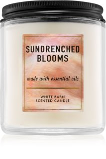 Bath & Body Works Sundrenched Blooms lumânare parfumată  198 g