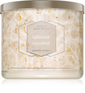 Bath & Body Works Tahitian Coconut vela perfumada 411 g