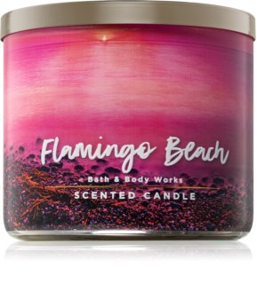 Bath & Body Works Flamingo Beach scented candle 411 g