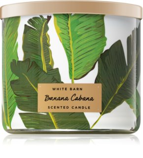 Bath & Body Works Banana Cabana vela perfumada