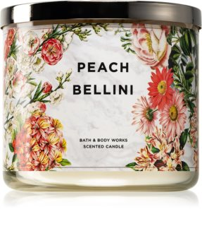 Bath & Body Works Peach Bellini duftkerze  II. 411 g