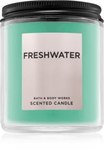Bath & Body Works Freshwater vela perfumada  198 g