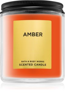 Bath & Body Works Amber vela perfumada 198 g
